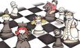 gli scacchi e l'inglese in biblioteca